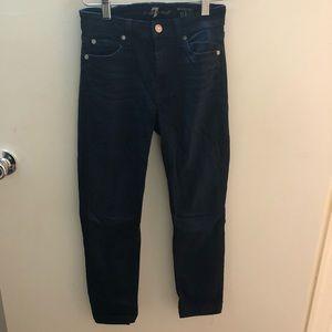 Pre altered skinny jeans